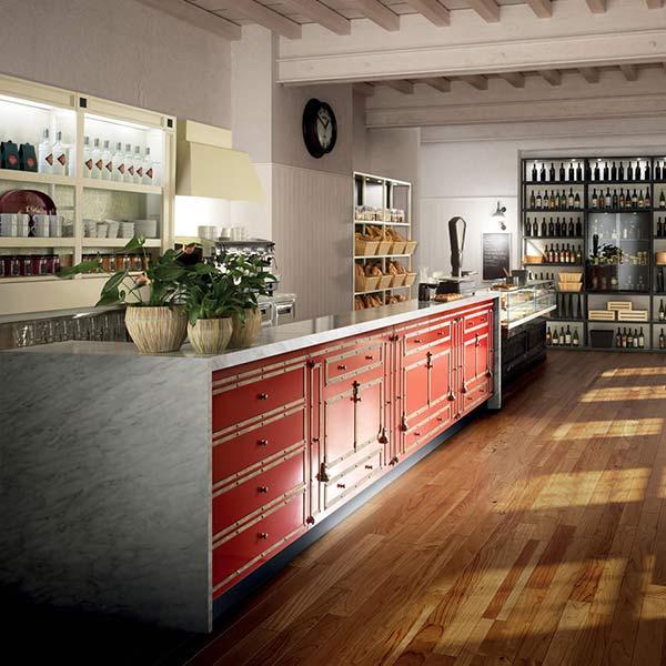 Idee arredo bar excellent arredamento casa idee e for Arredamento hotel usato